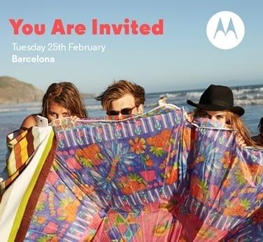 Motorola MWC Event