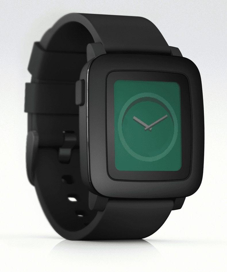 Pebble Time Black