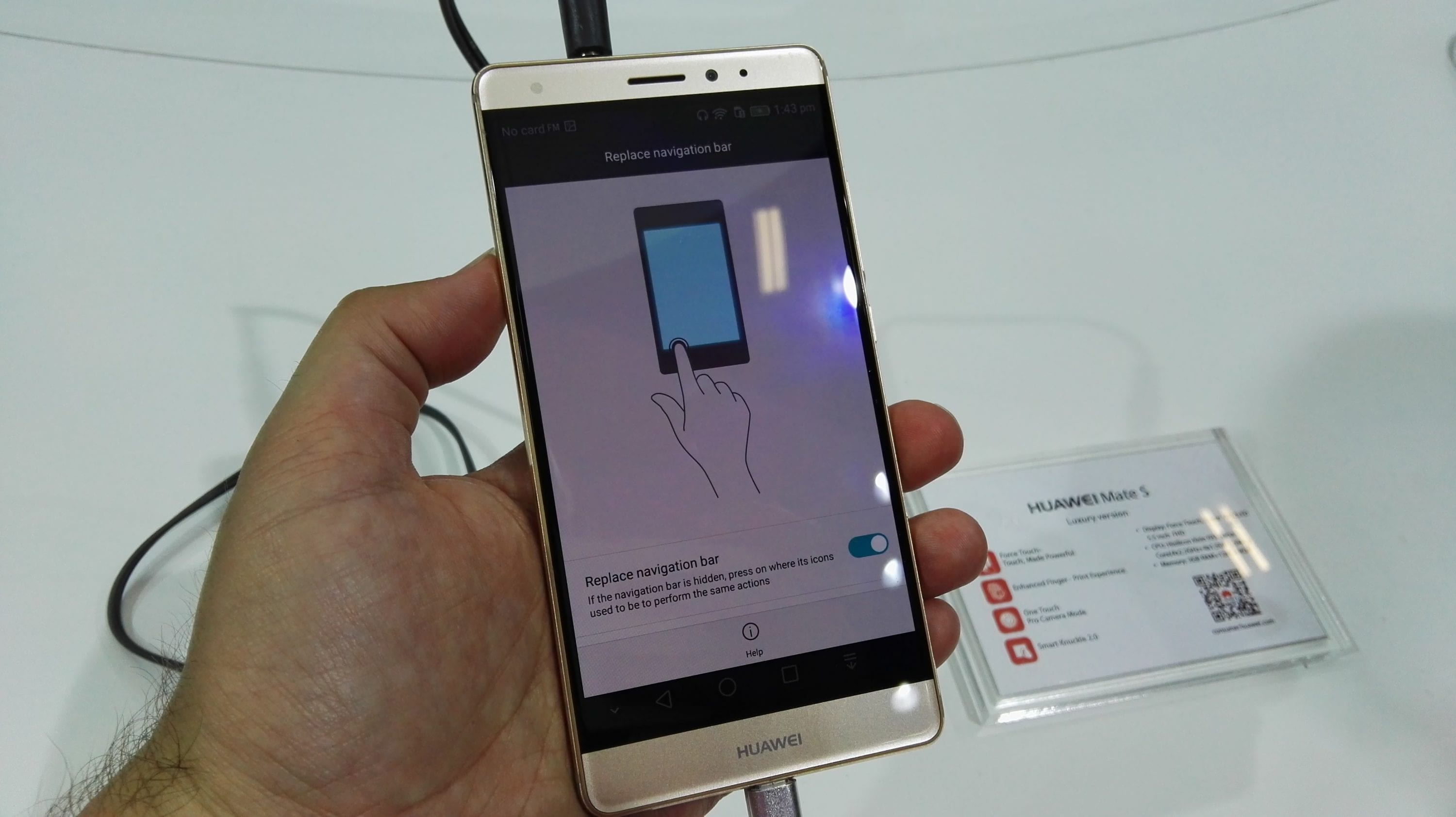 Huawei Mate S Force Touch