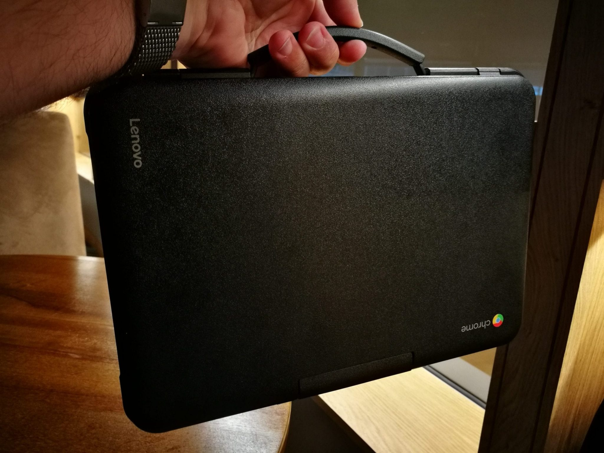 Lenovo N22 Chromebook with carry handle