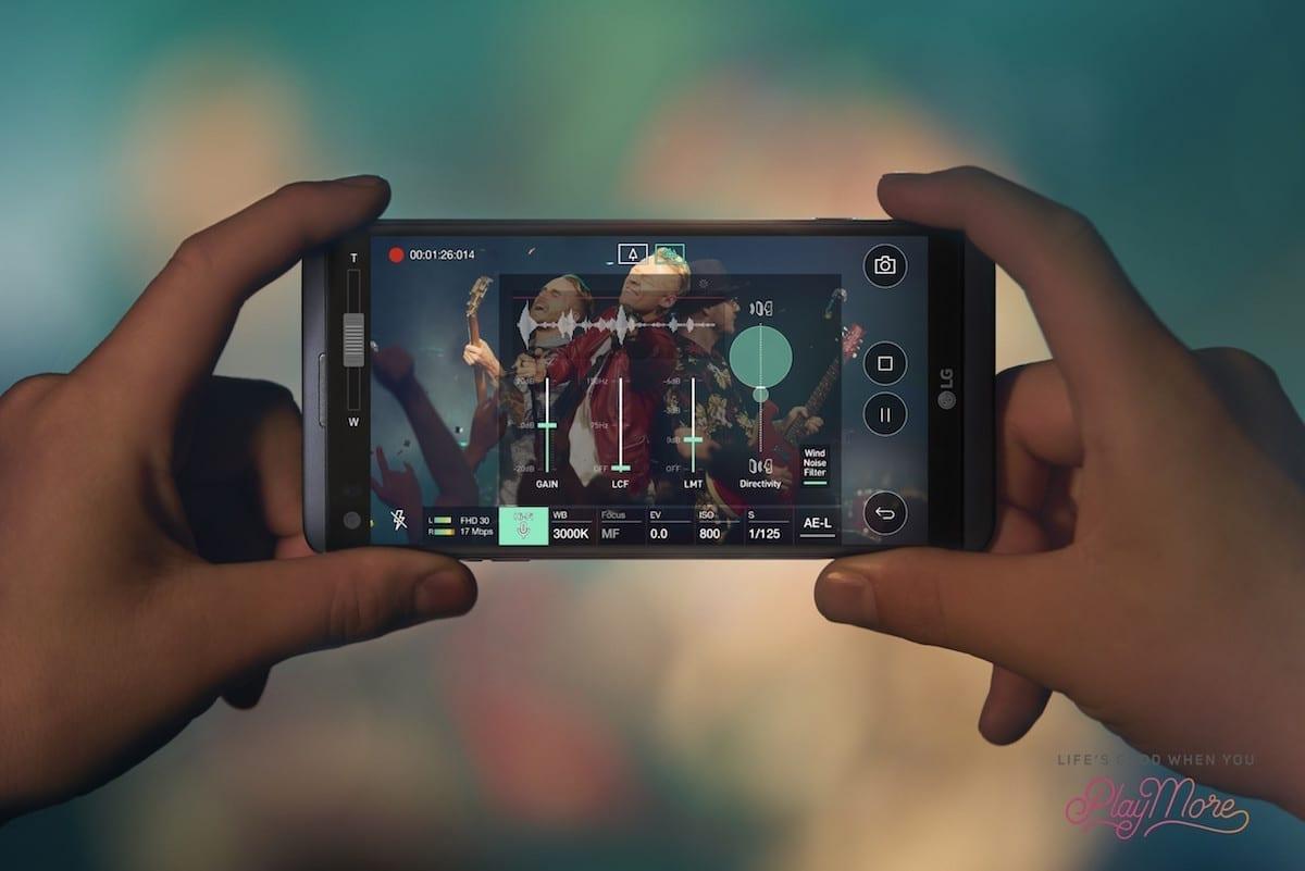 LG V20 Hi-Fi Recording