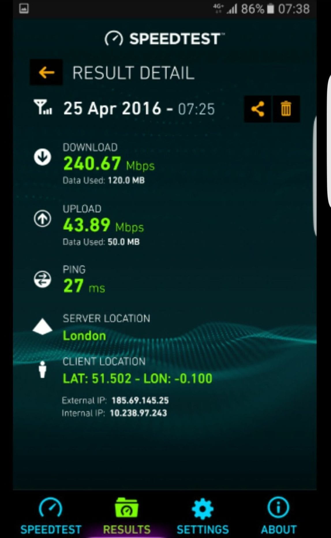 smale-speedtest