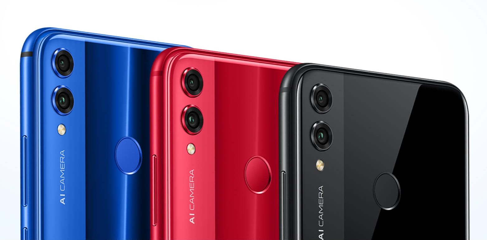 Honor 8X colours