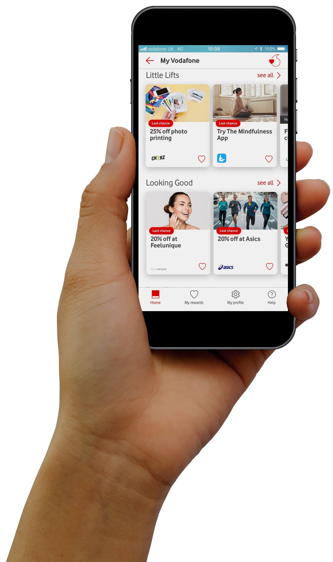 Vodafone VeryMe Rewards